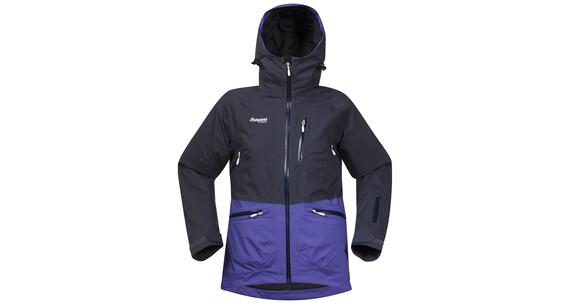 Bergans W's Myrkdalen Jacket Night Blue/Funky Purple/White